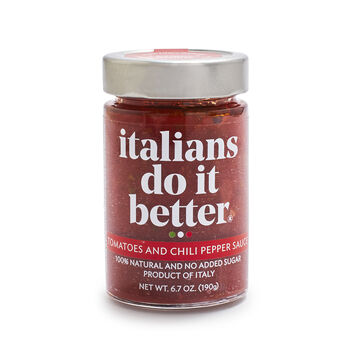 Italians Do It Better Tomatoes & Chili Pepper Arrabbiata Sauce, 6.7 oz.