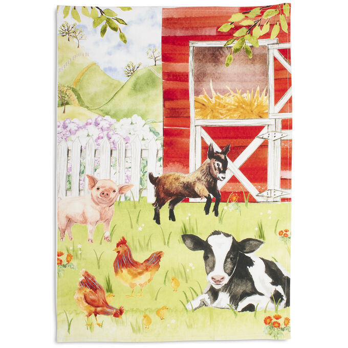 "Farm Kitchen Towel, 30"" x 20"""