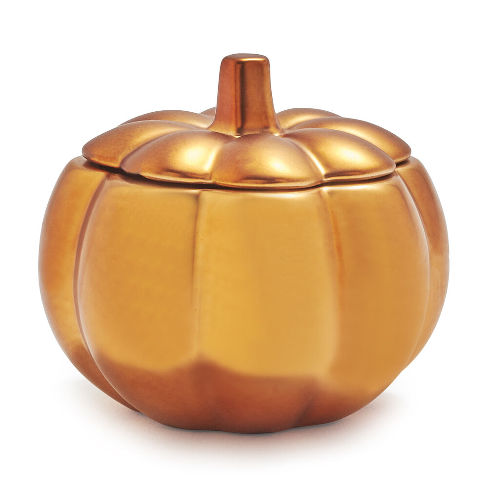 Figural Pumpkin Spice Scented Candle, 5.3 oz.