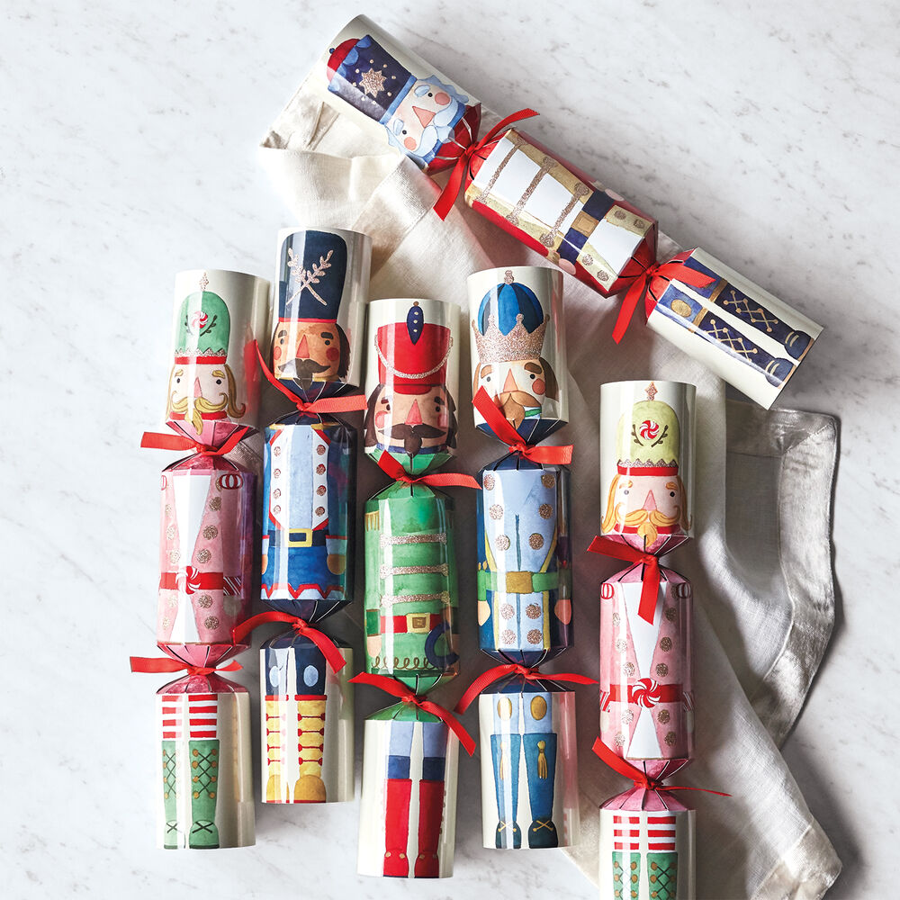 Nutcracker Party Crackers, Set of 6