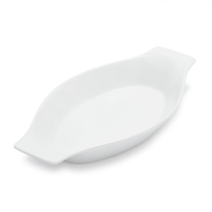 """Sur La Table Porcelain Oval Gratin Dish, 10.5"""""""