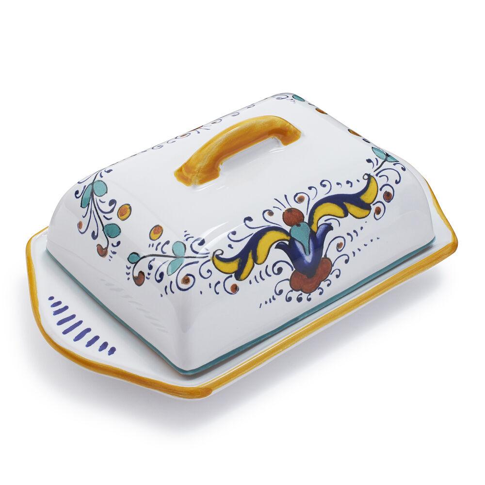 Nova Deruta Butter Dish