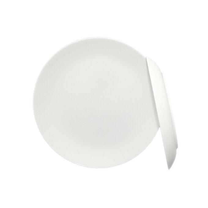 Fortessa Purio Bone China Bread Plates, Set of 4