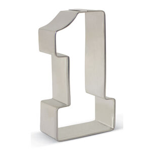 """Number 1 Cookie Cutter, 3.25"""""""