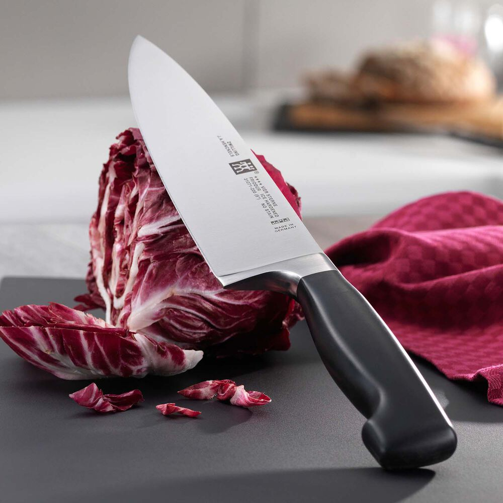 """Zwilling J.A. Henckels Four Star Chef's Knife, 8"""""""