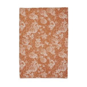 """Pumpkin Jacquard Kitchen Towel, 30"""" x 20"""""""