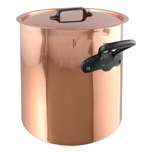 Mauviel M'150c2 Stockpot with Lid, 11.7 qt.