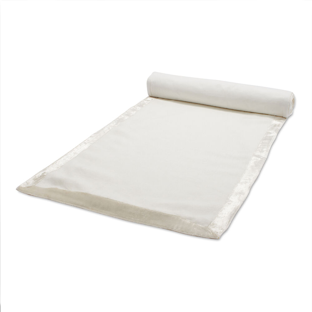"""Velvet Linen Table Runner, 108"""" x 16"""""""