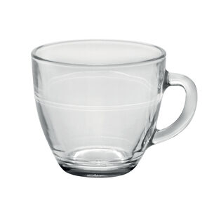 Duralex Gigogne 7.75 oz. Clear Mugs, Set of 6