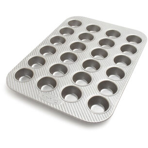 Sur La Table Platinum Professional Mini Muffin Pan, 24 Count