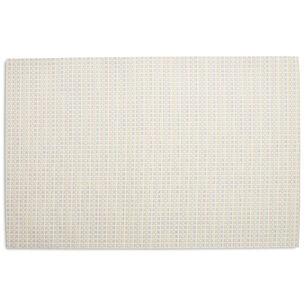Chilewich Mini Basketweave Floor Mat, Sugar