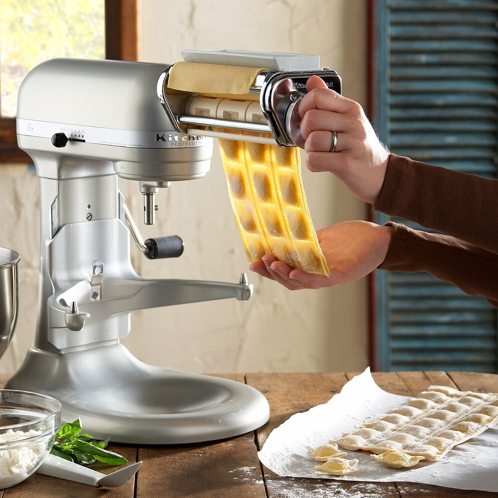 KitchenAid® Mixer Ravioli Attachment