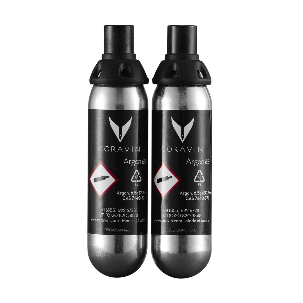 Coravin Wine System Replacement Capsules, Set of 2