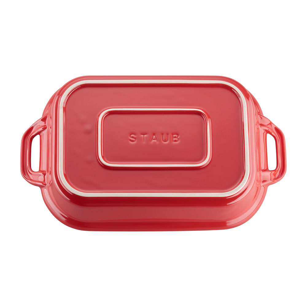 Staub Rectangular Covered Baker, 4 qt.