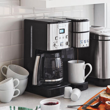 Cuisinart Coffee Center 12-Cup Coffee Maker and Single-Serve Brewer