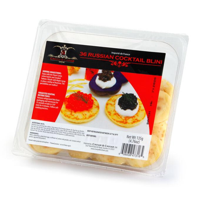 Caviar & Caviar Russian Blini
