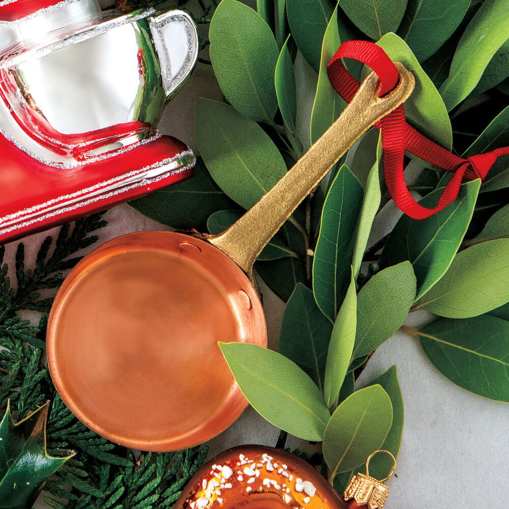 Copper Skillet Ornament