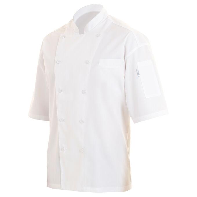Chef Works White Short-Sleeve Chef Coats