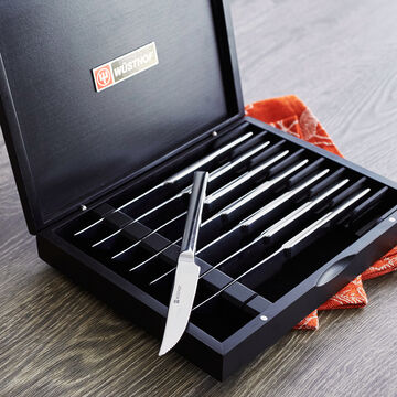 Wüsthof 8-Piece Steak Knife Set in Presentation Box