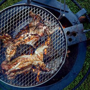 Sea Island Forge Grill Top, 30 gallon
