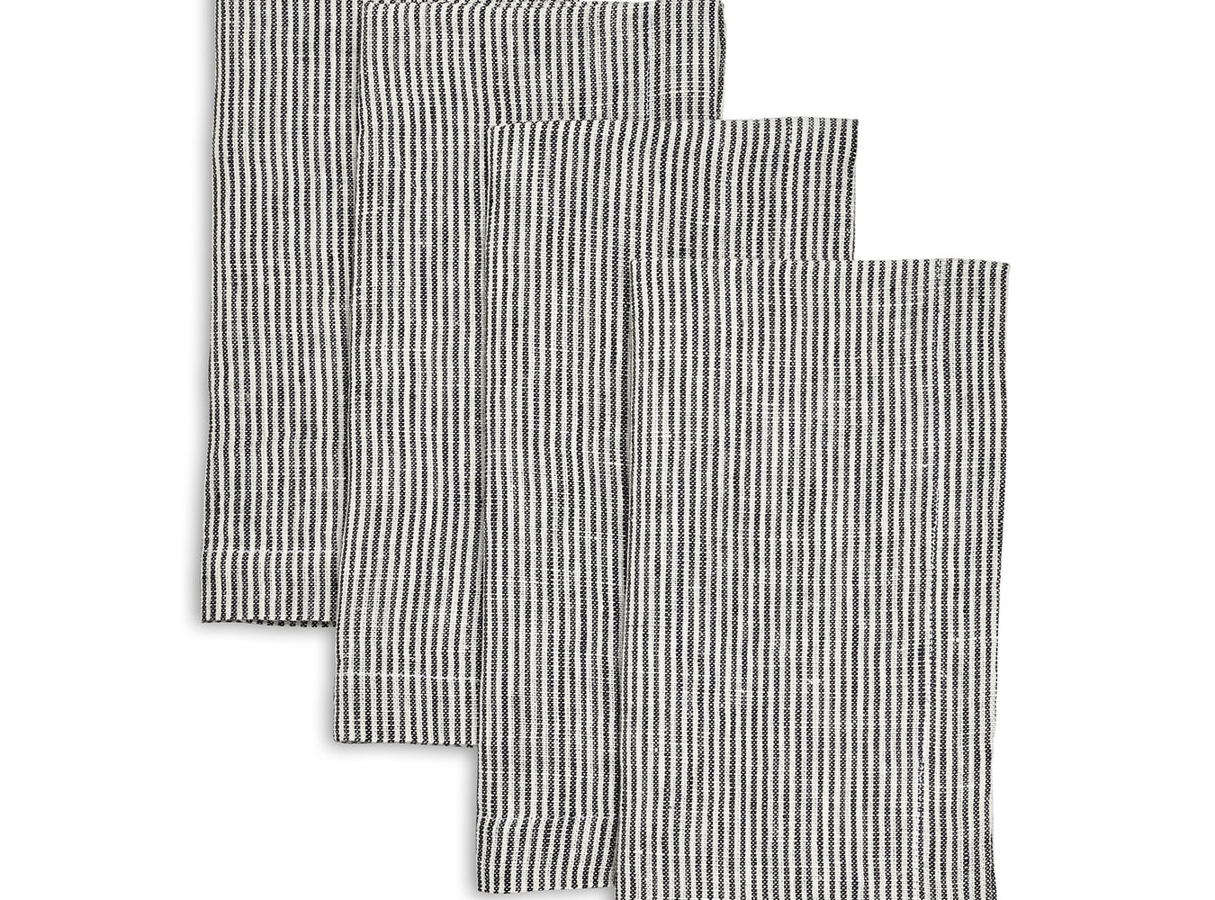 Linen Pinstripe Napkins, Sets of 4 | Sur La Table