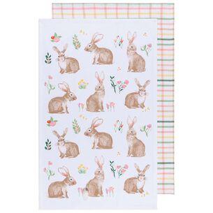 Bunny Towels, Set of 2