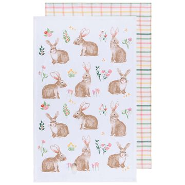 Bunny Towels, Set of 2