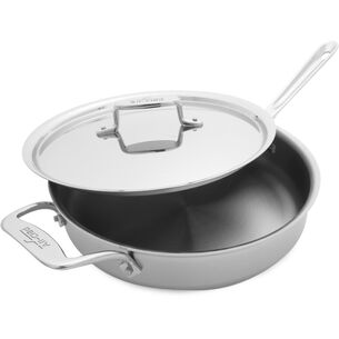 All-Clad d5 Brushed Stainless Steel Sauté Pan