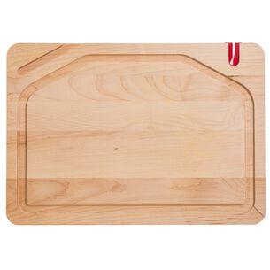Pro Edge Maple Cutting Board with Sharpener & Tech Slot