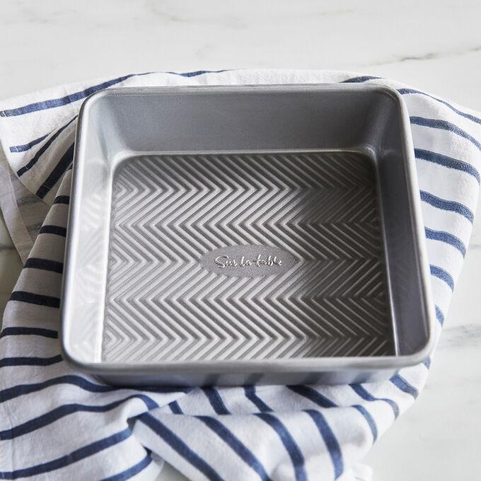 "Sur La Table Silver Classic Square Cake Pan, 8"" x 8"""