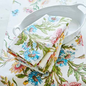Wildflower Napkins by April Cornell, Set of 4