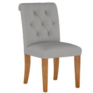 Camille Dining Chair, Walnut Leg Finish