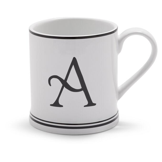 Sur La Table Monogram Mug, 15 oz.