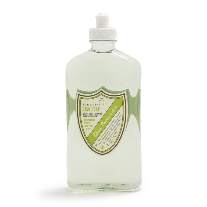 Sur La Table Olive Coriander Dish Soap, 18 oz.