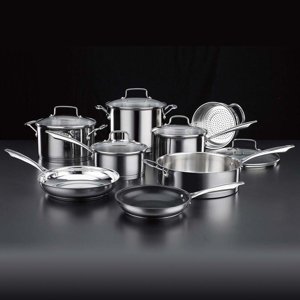Cuisinart Professional Stainless Steel 13-Piece Cookware Set
