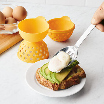 OXO Good Grips Silicone Egg Poacher, Set of 2
