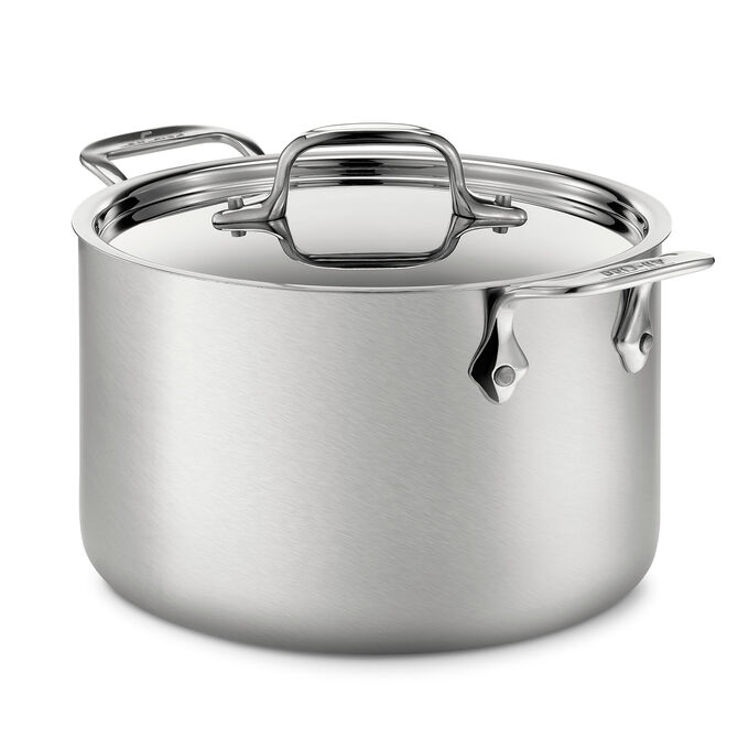 All-Clad d5 Brushed Soup Pot, 4 qt.