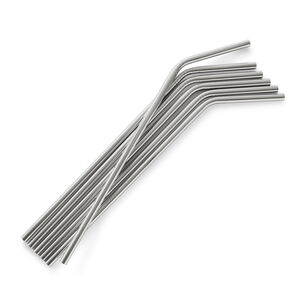 Stainless Steel Straws, Set of 6