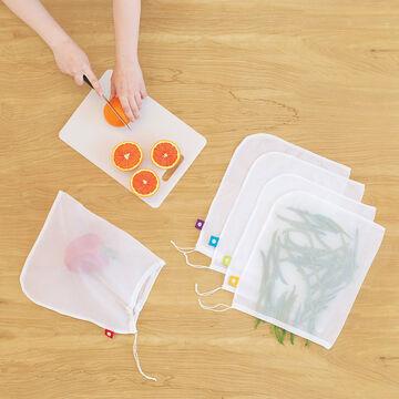 flip & tumble Mesh Produce Bags, Set of 5