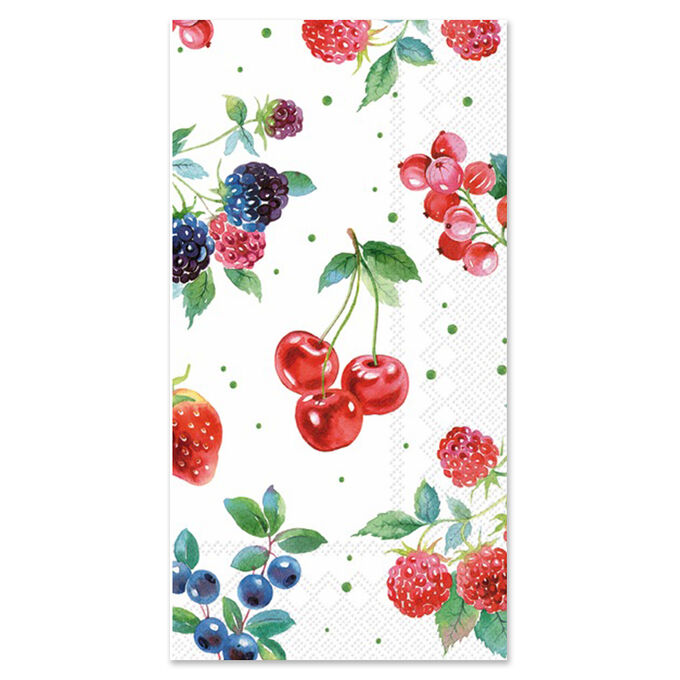 Berry Guest Napkins, Set of 20