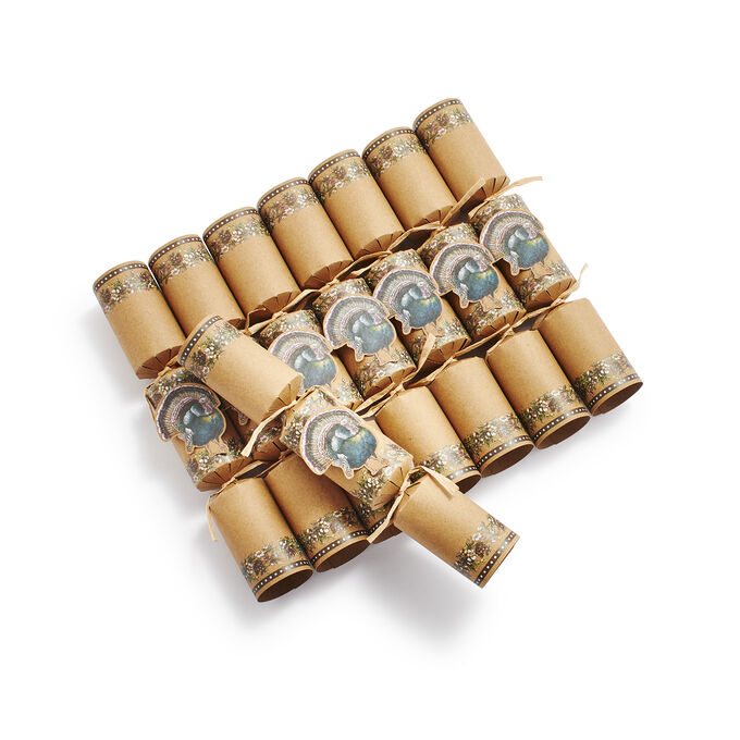 Harvest Party Crackers, Set of 8