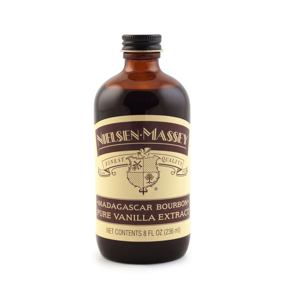 Madagascar Bourbon Pure Vanilla Extract, 8 oz.