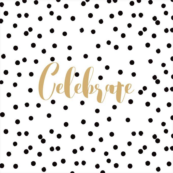 Celebrate Cocktail Napkins, Set of 20