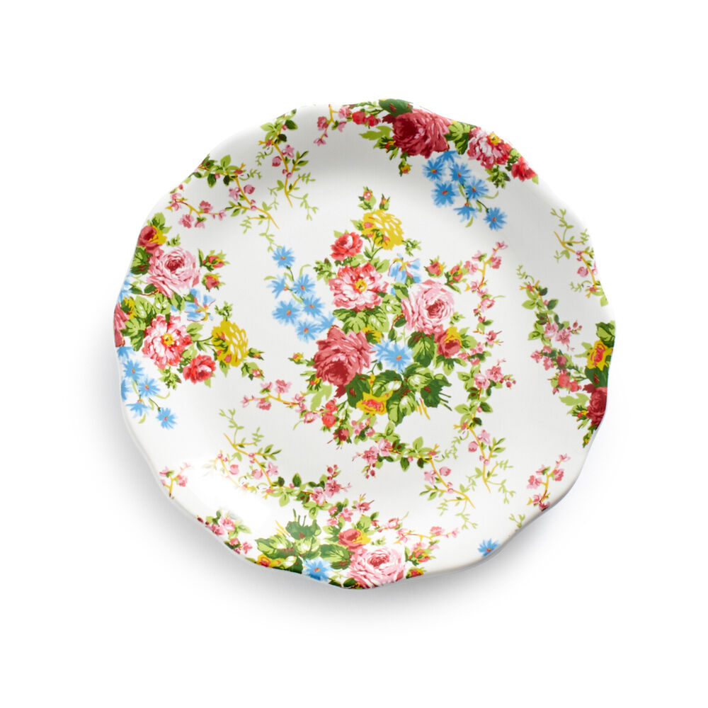 Rose Garden Appetizer Plates by April Cornell, Set of 4 | Sur La Table
