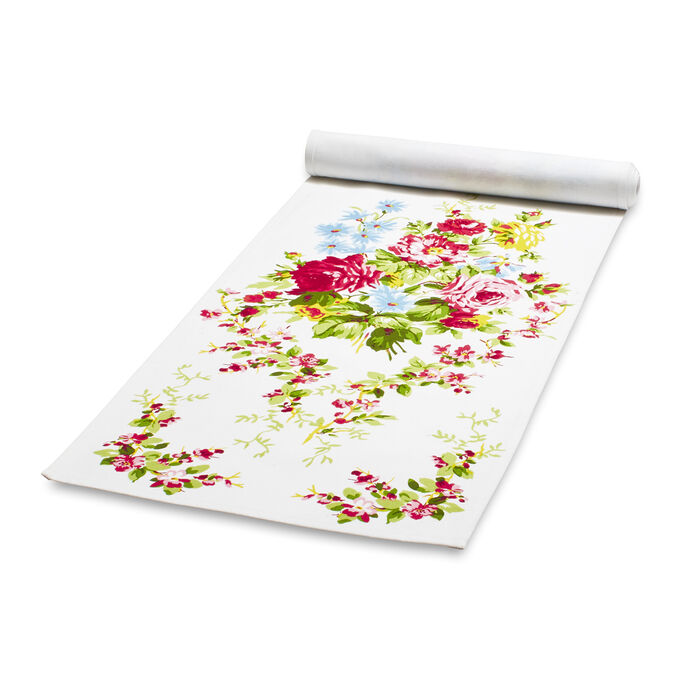 "Rose Garden Table Runner by April Cornell, 13"" x 72"""