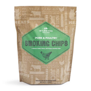Poultry & Pork Smoking Chip Blend