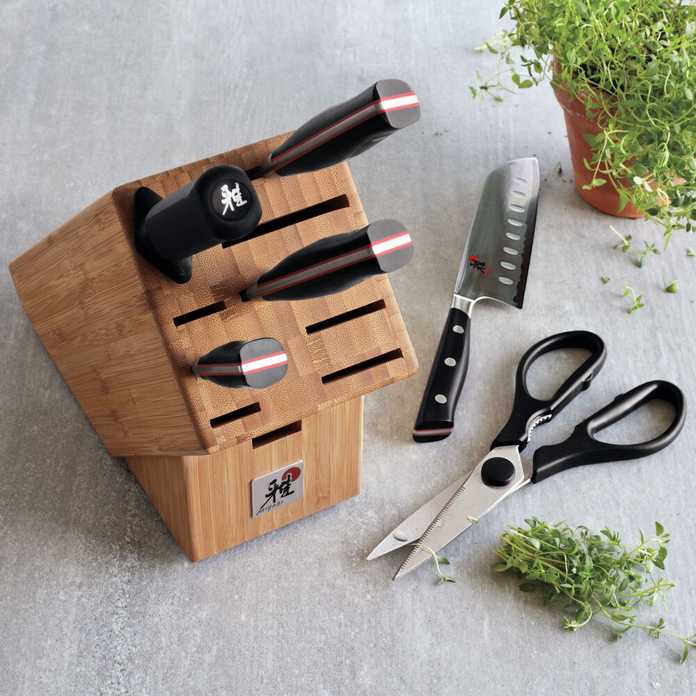 Miyabi Evolution 7-Piece Knife Block Set