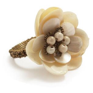 Beaded Pearl Napkin Ring