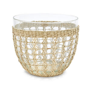Seagrass Serving Bowl, 9""