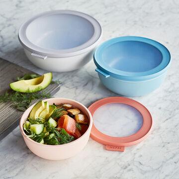 Rosti Mepal Cirqula Shallow Bowls, Set of 3